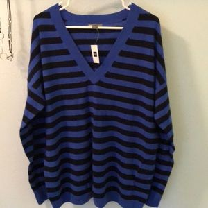 Gap cashmere vee neck sweater